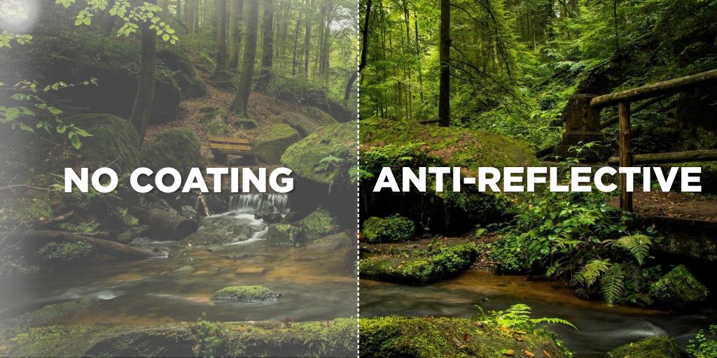 anti-reflective comparison