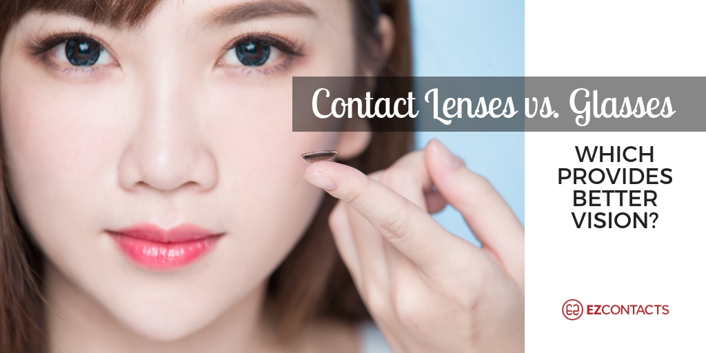Contact lenses vs. Glasses