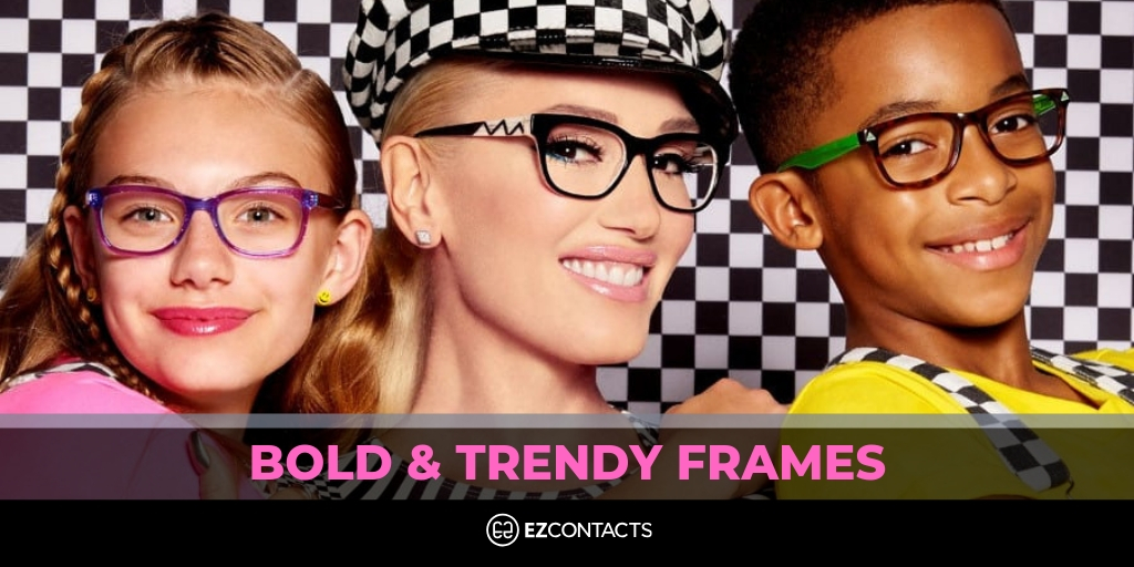 Bold and trendy frames