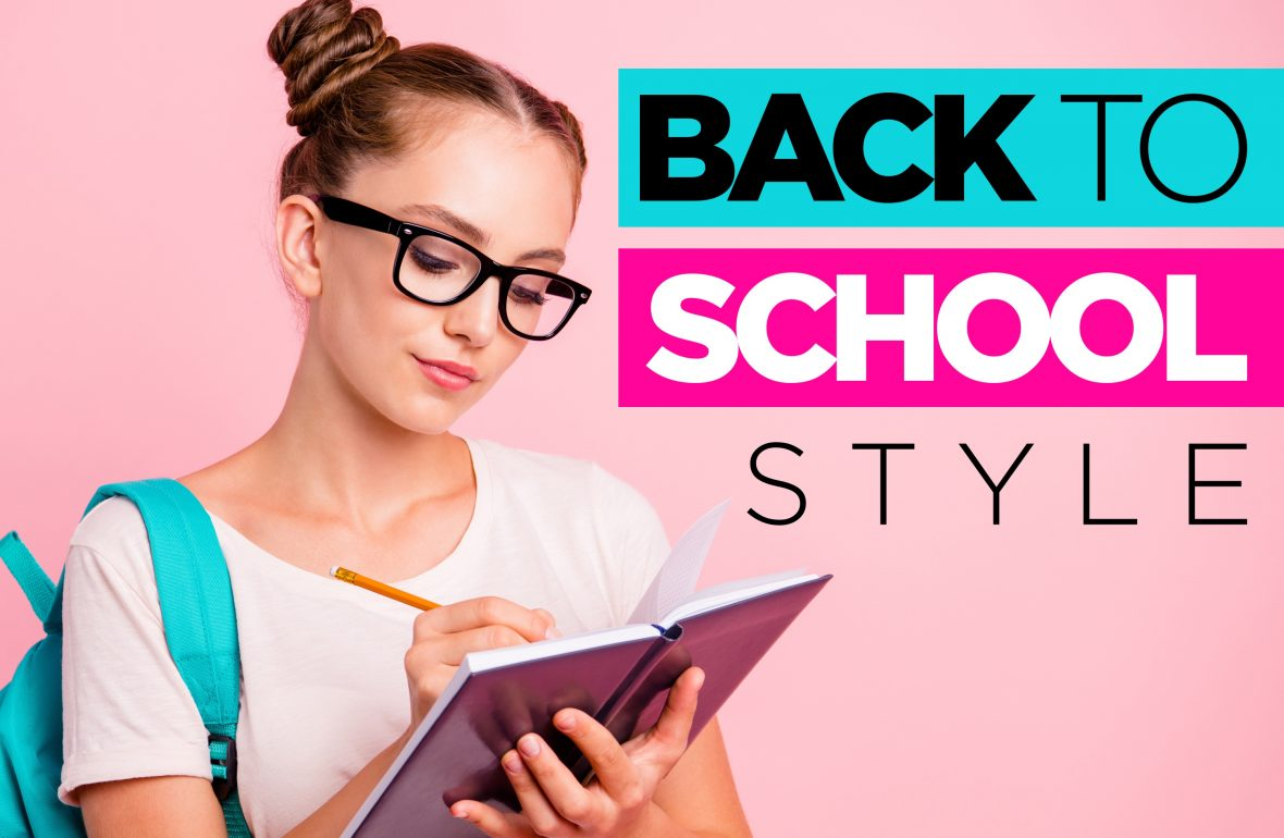 Stylish eyeglasses for school