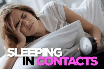 sleeping with contacts
