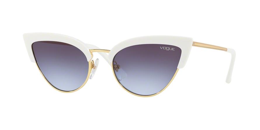 Vogue white cateyes