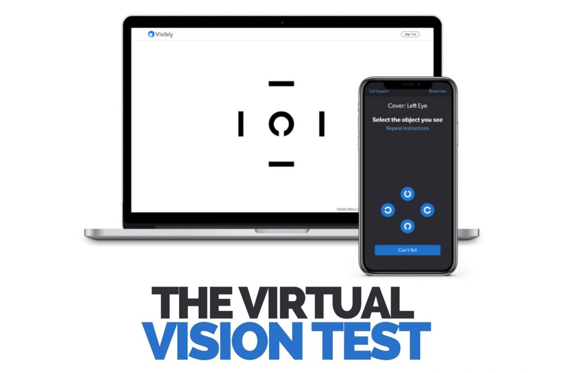 Visibly online vision test