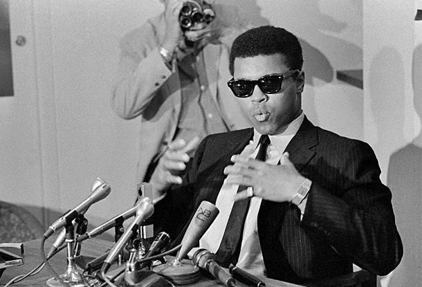 Ali in wayfarers